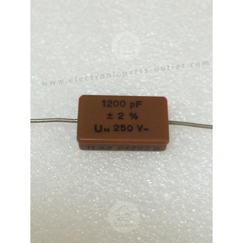 1n2-2%-250V  NOS Silver Mica