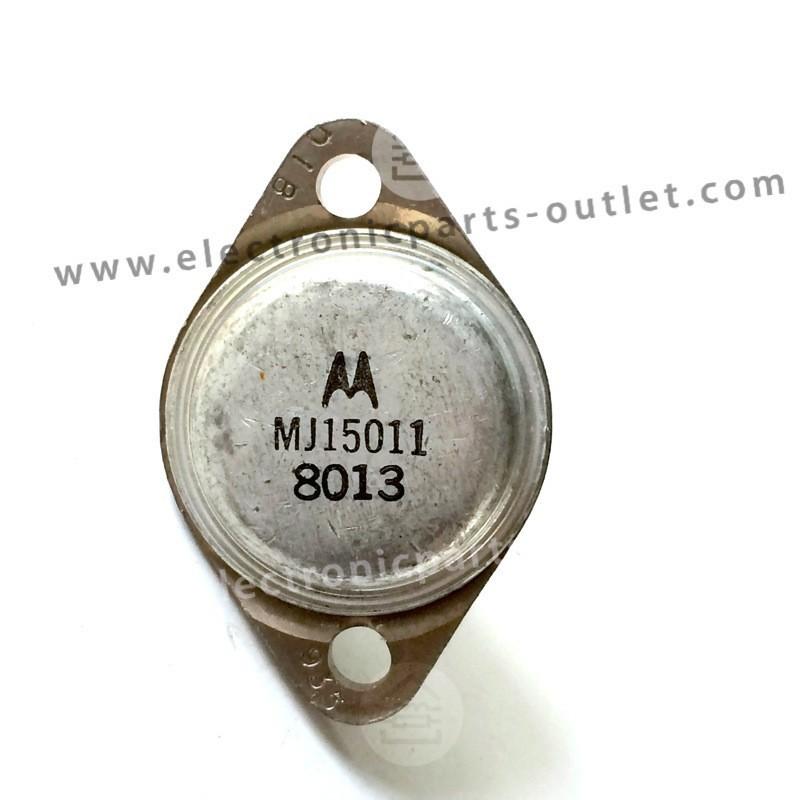 MJ15011 NPN-250V-10A-200W hfe 20-100