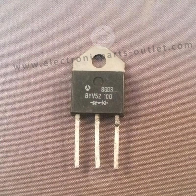 BYV52/100   2x60A-100V Ir 2.5mA/100°C...