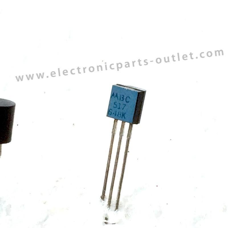 BC517   NPN – 40V – 0.4A – 0.625W –...