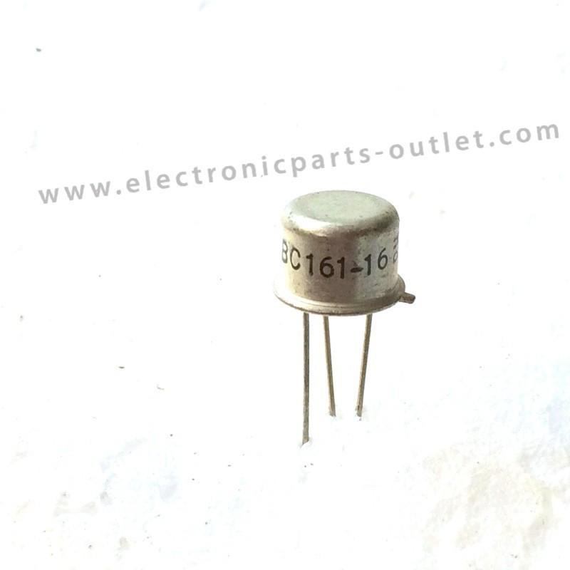 BC161-16   100V – 1A – 3.7W –  50MHz...