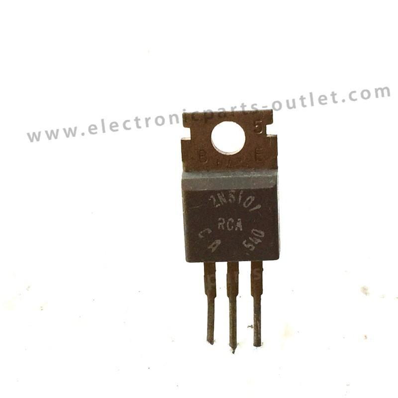 2N6101   NPN – 80V – 10A – 75W –  0.8MHz