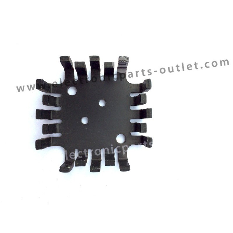 Heatsink finger TO-3  45x45x13 mm.