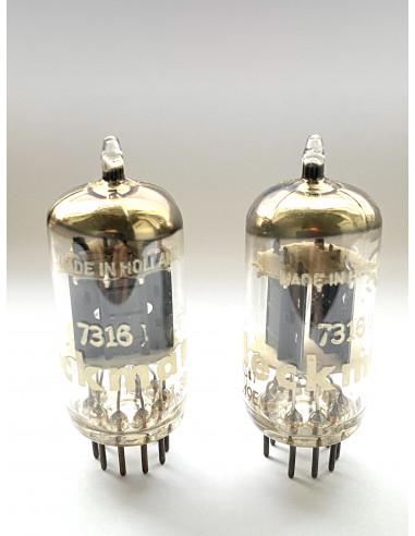Philips 7316 Matched Pair (12AU7)...