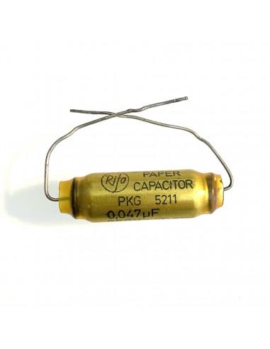 Rifa PKG 5211 Paper capacitor 0,047uF...