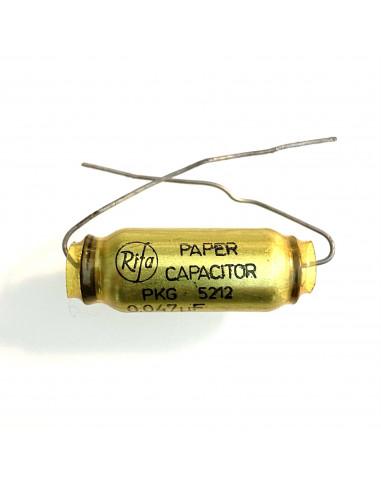 PKG 5212 Paper capacitor 0,047uF 400VDC