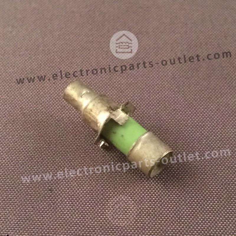 Staaf trimmer 2–6,5pF  soldeer met kraag