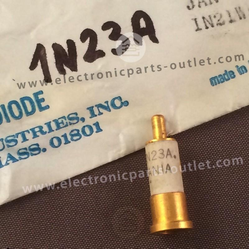 1N23 A  Silicon, point-contact mixer...
