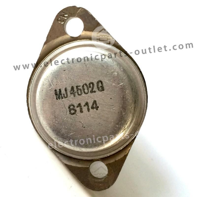 MJ4502G PNP-100V-30A-200W, hfe 25-100