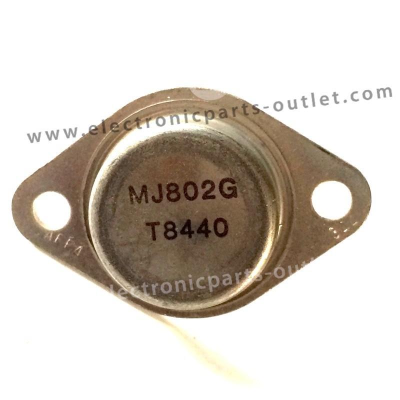 MJ802G NPN-100V-30A-200W, hfe 25-100