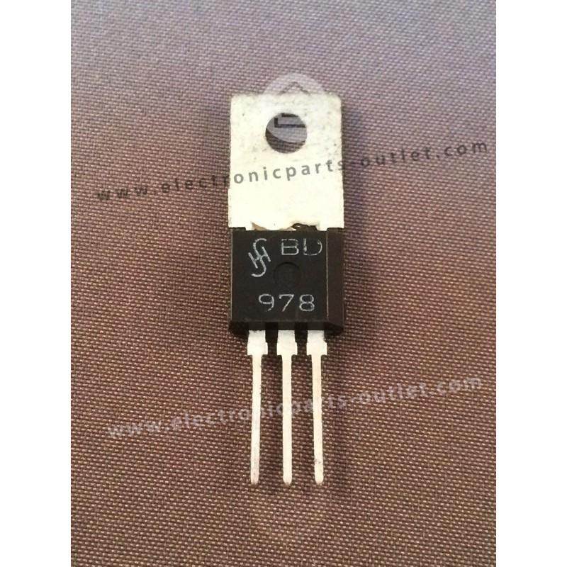 BD978  NPN – 80V – 1A – 3,6W – 200MHz...