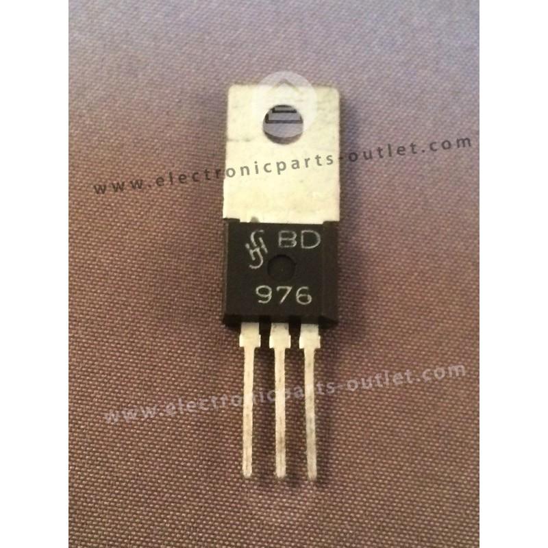 BD976  NPN – 60V – 1A – 3,6W – 200MHz...