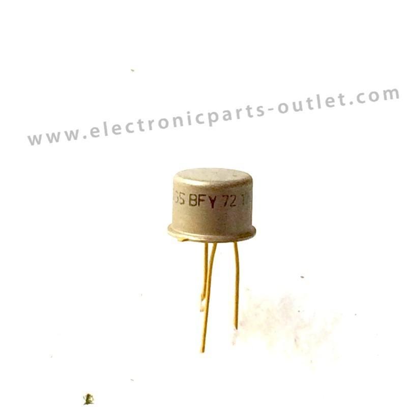 BFY72  NPN – 50V – 0,5A – 0,8W – 14/80ns