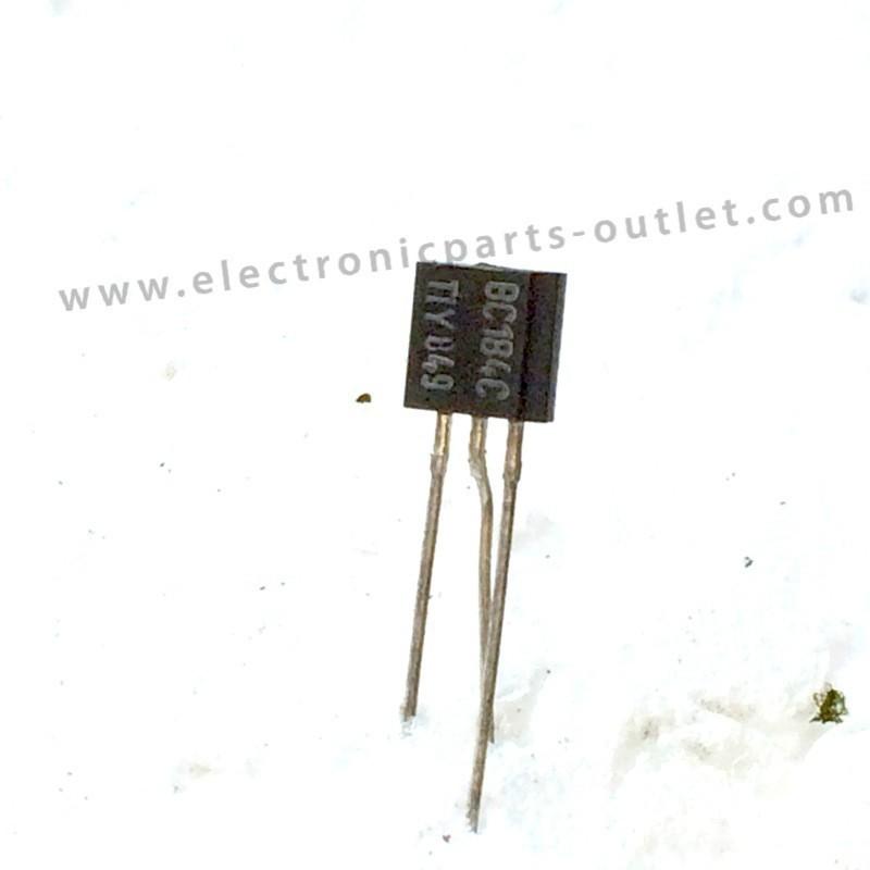 BC184C  45V – 0,1A – 0,3W