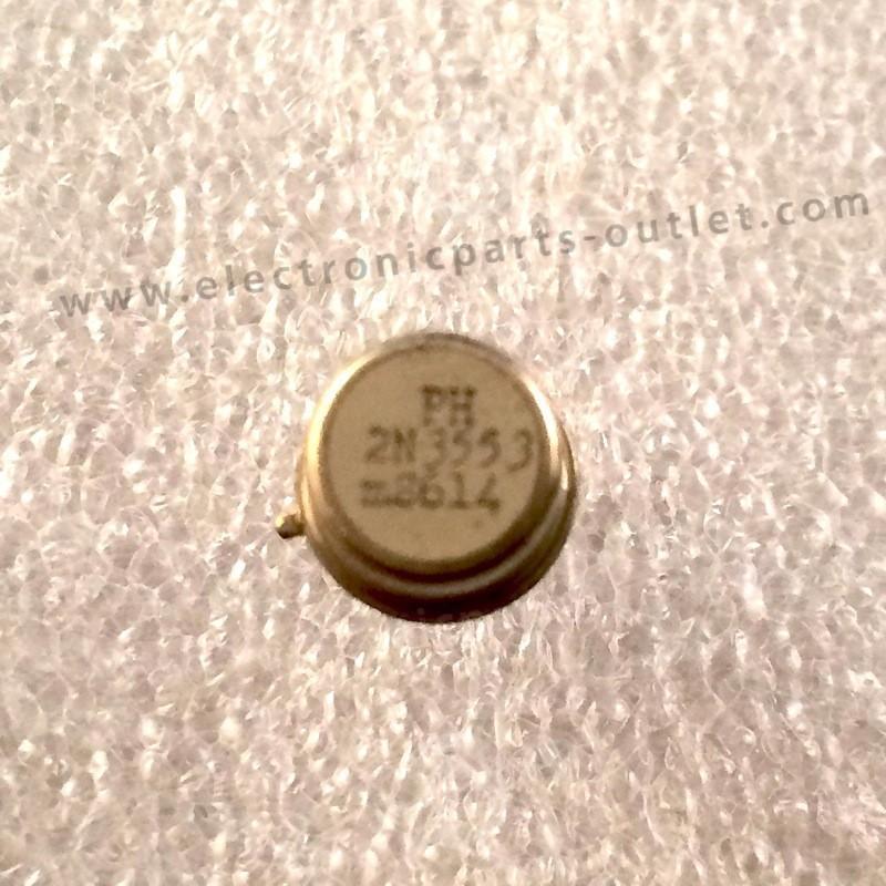 2N3553  NPN – 65V -1A – 2,5W – 175MHz