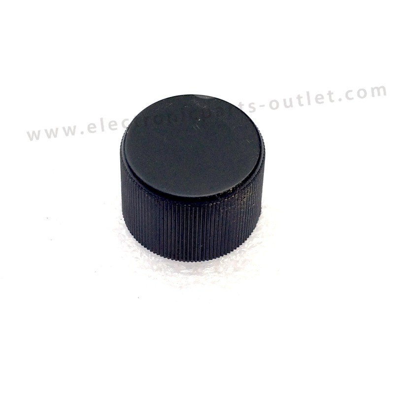 Knob black Ø ?  Shaft 4mm clamp type