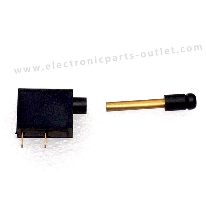 Shortcut plug  pcb mounting, per set