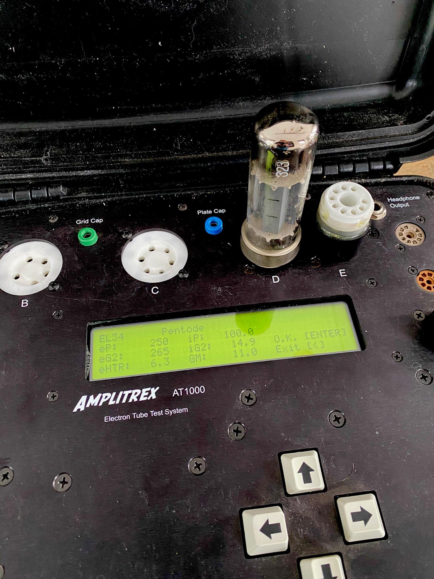 Amplitrex AT1000 tubetester