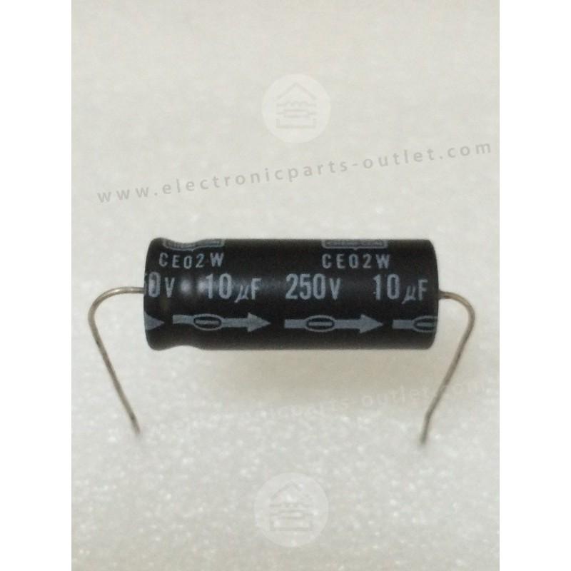 10uF-250V  CE02W