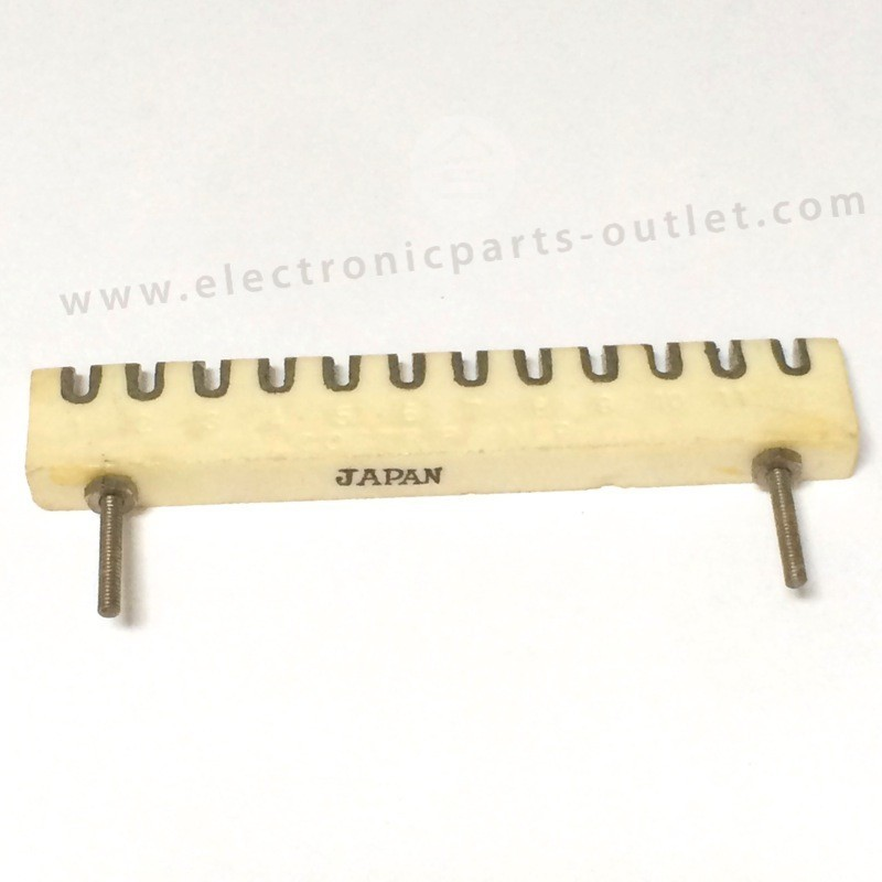 Ceramic wiring strip 12P