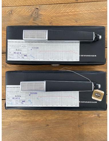 Sennheiser 2x MD 441 ( Matching Pair...