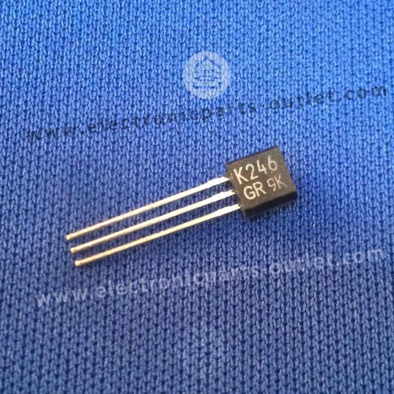 2SK246GR Idss  –2.6 – -6.5mA