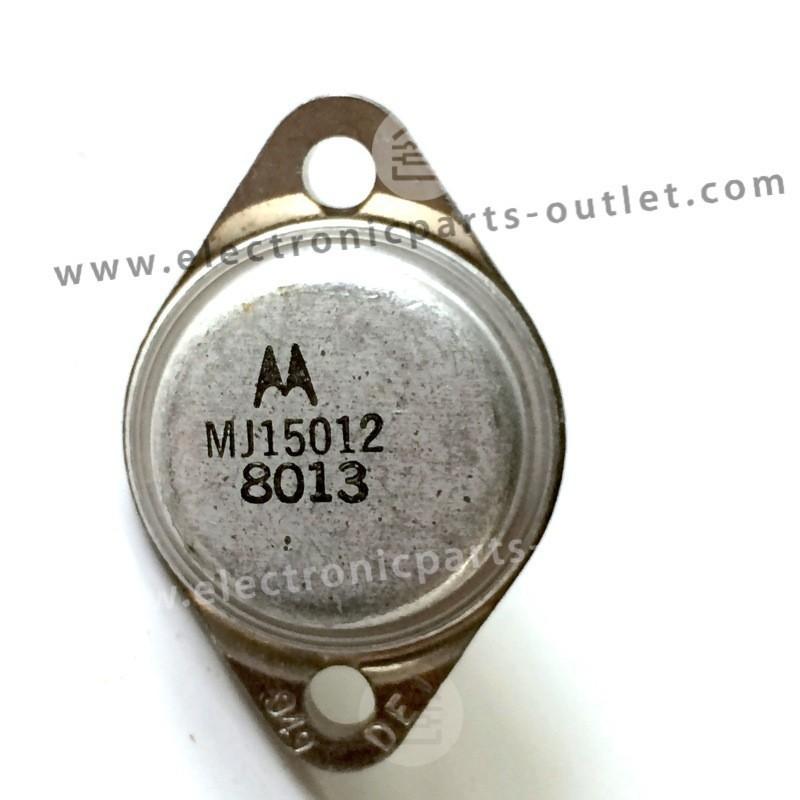 MJ15012 PNP-250V-10A-200W hfe 20-100