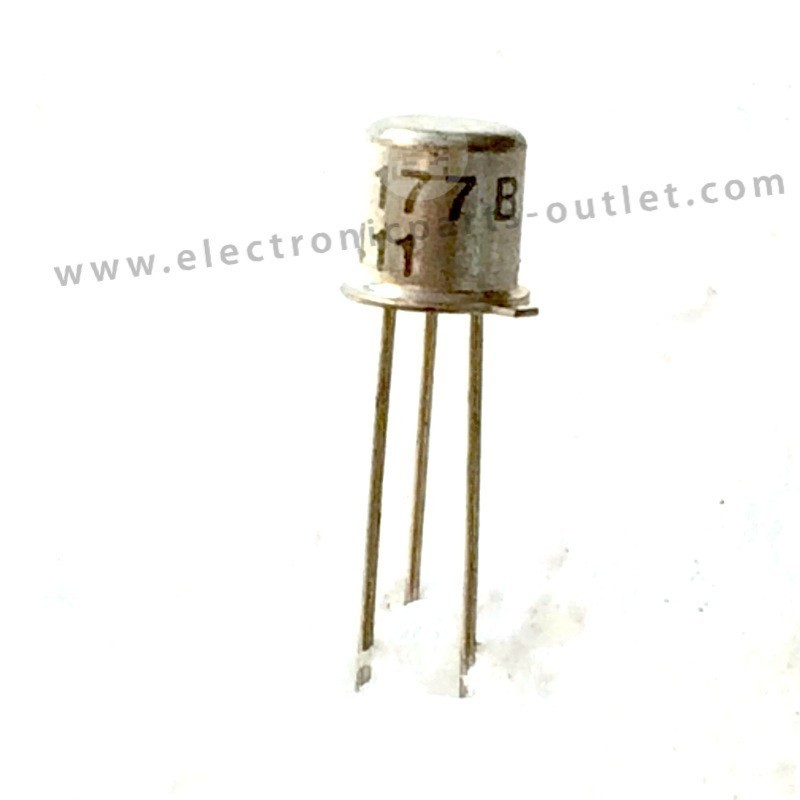 BC177B   45V – 0.2A – 0.3W – hfe 70