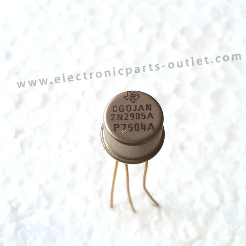 2N2905A   60V   0.6A – 0.8W – 300MHz...