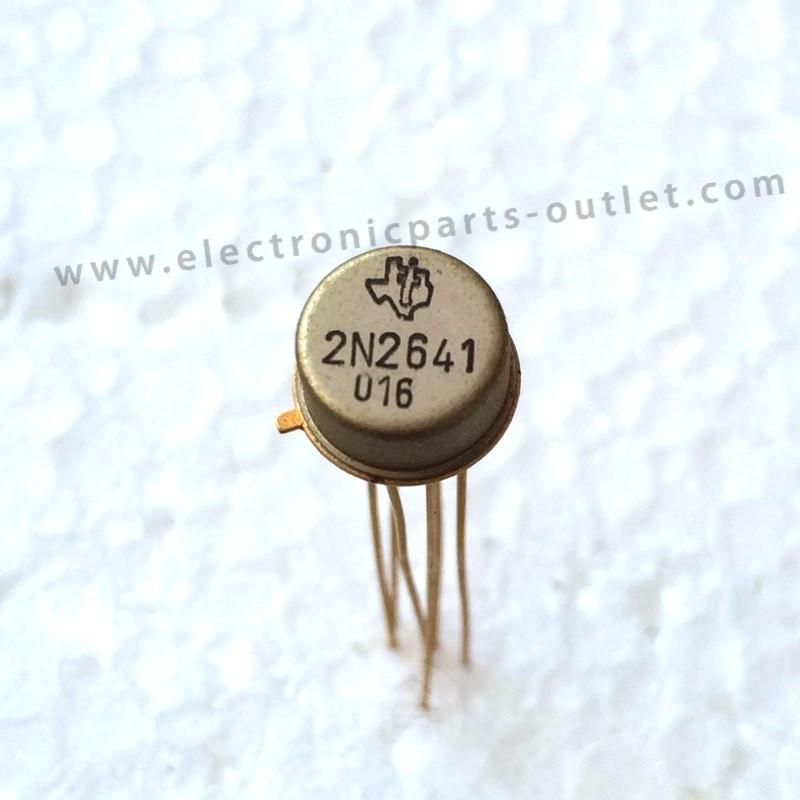 2N2641   dual 45V – 0.03A – hfe 50 300