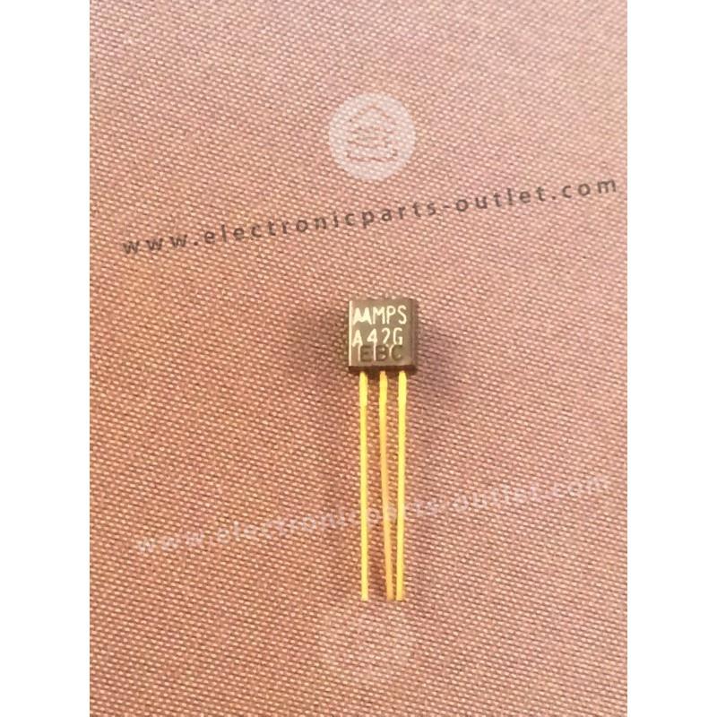 MPSA42G  NPN – 300V – 0,5A – 0,625W –...