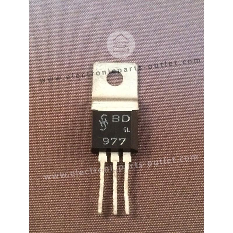 BD977  NPN – 80V – 1A – 3,6W – 200MHz...