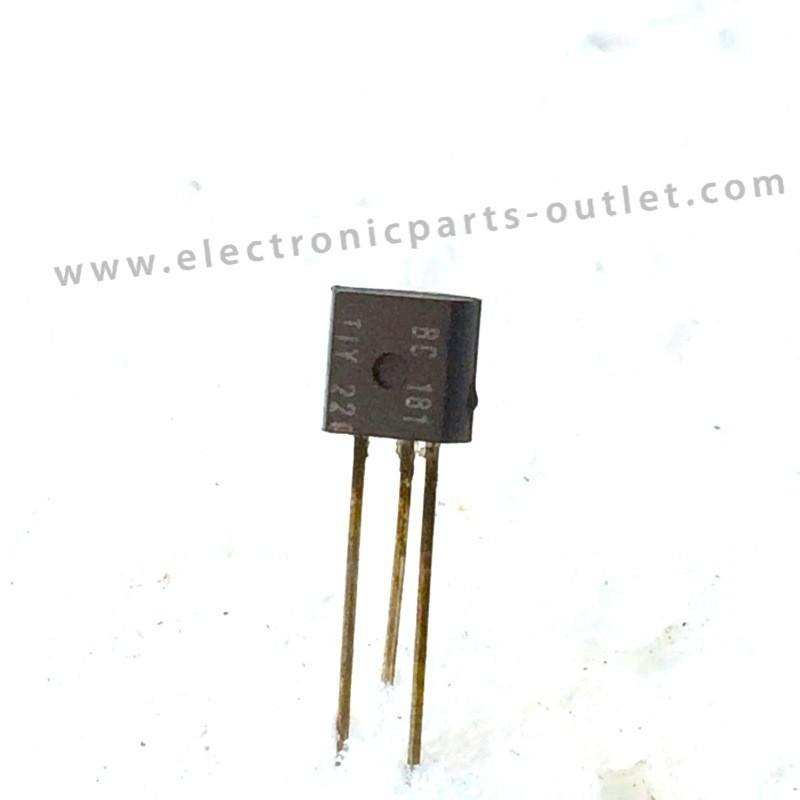 BC181  40V – 0,2A – 0,3W