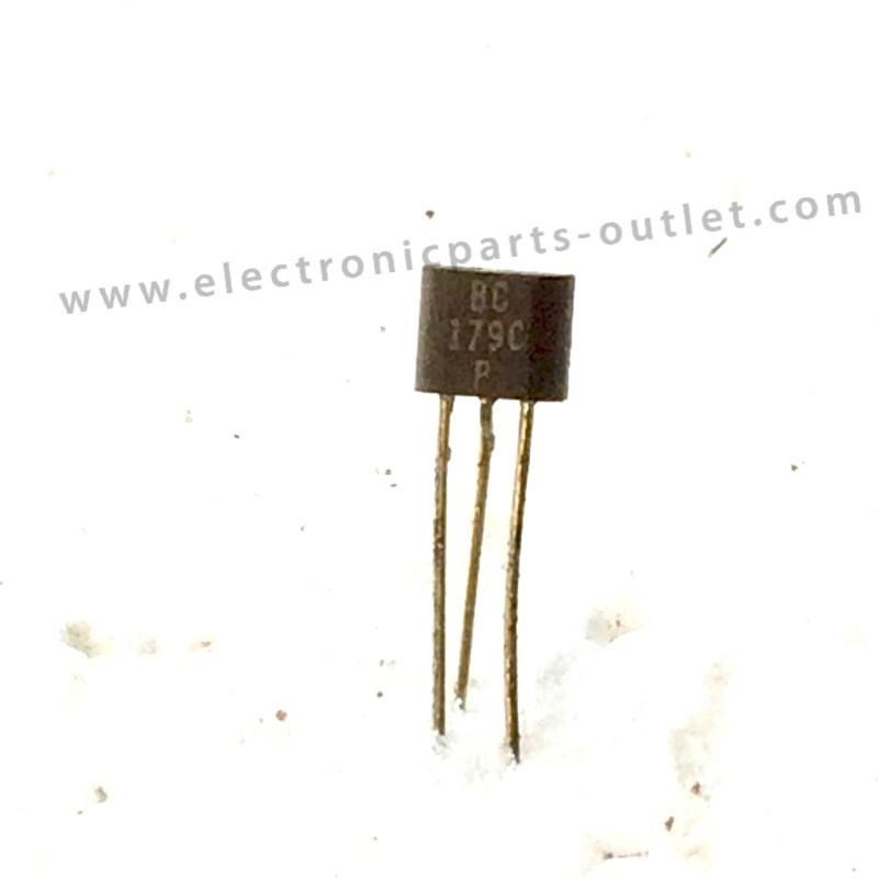 BC179C  20V – 0,1A – 0,3W – hfe 450