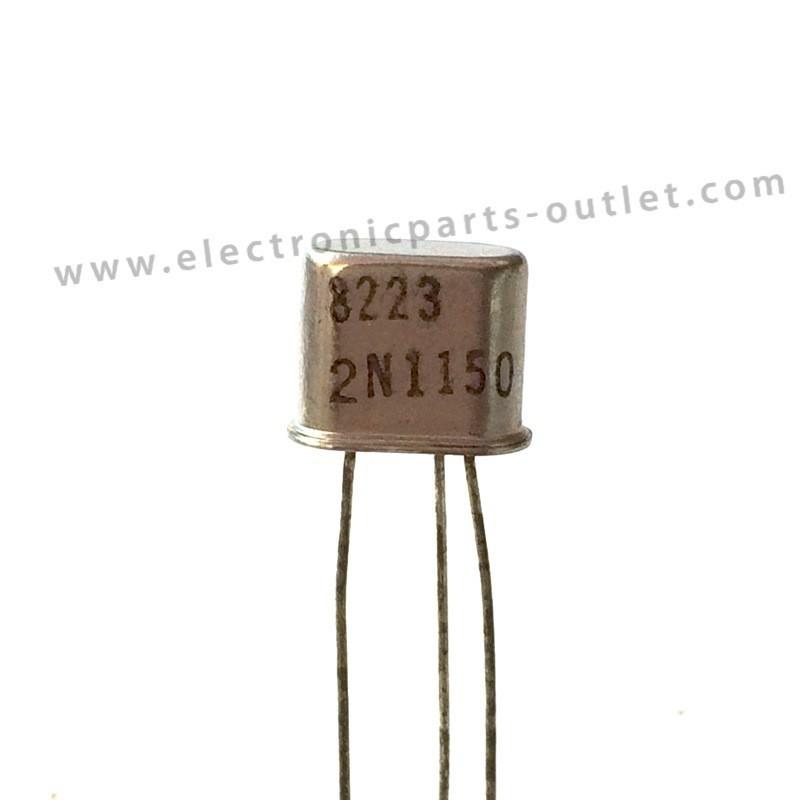 2N1150  45V – 0,025A – 0,15W – 13MHz