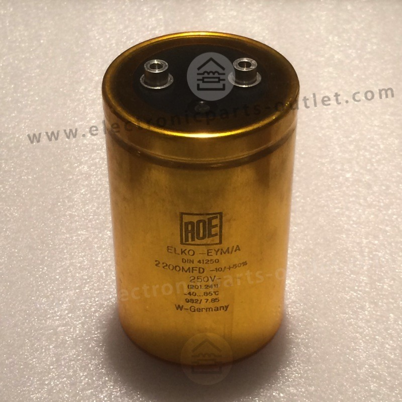 ROE Gold EYM/A can capacitor 2200uF...